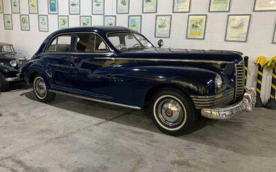 Nosso Packard 1947 Clipper voltando a ativa.